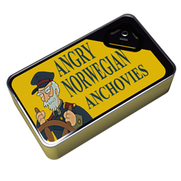 Futurama Angry Norwegian Anchovies icon