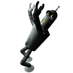 Futurama Bender 1 icon