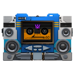 Transformers Soundwave tape front icon
