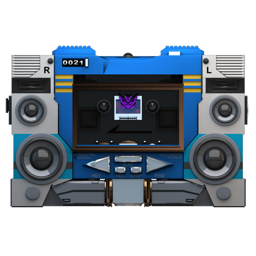 Transformers Soundwave no tape front icon