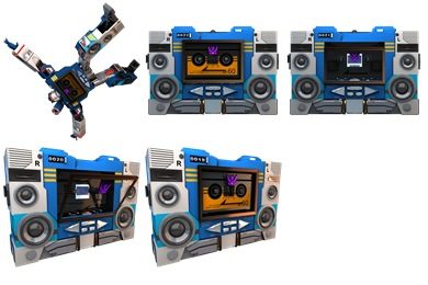Transformers Soundwave Icons