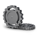 Gear-wheel icon