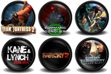 Mega Games Pack 01 Icons