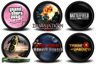 Mega Games Pack 18 Icons