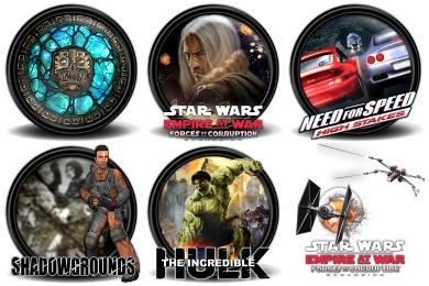 Mega Games Pack 22 Icons