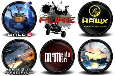 Mega Games Pack 24 Icons