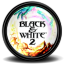 Black White 2 1 icon