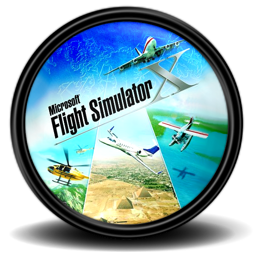 Micosoft Flight Simulator X 1 Icon | Mega Games Pack 30