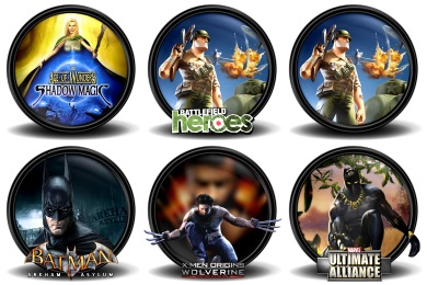 Mega Games Pack 30 Icons
