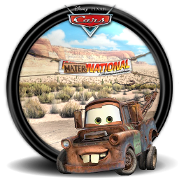 Cars pixar 8 icon