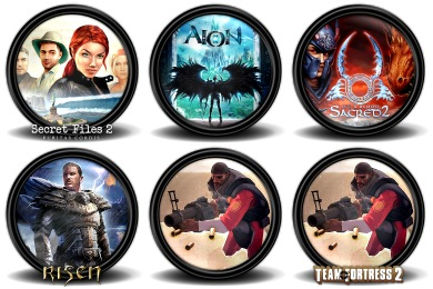 Mega Games Pack 32 Icons