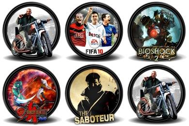 Mega Games Pack 34 Icons