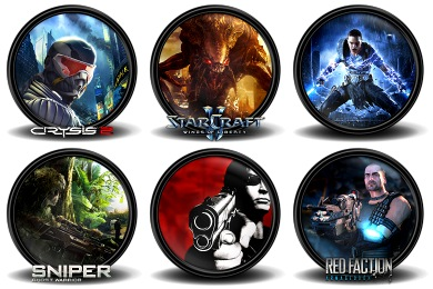 Mega Games Pack 40 Icons