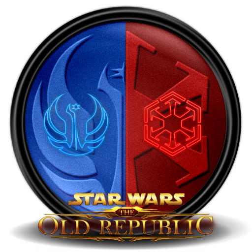 Star wars the old republic 7 icon star wars the old republic iconset exhumed - Republic star wars logo ...