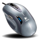 Logitech G5 Laser Mouse Silver Edition icon