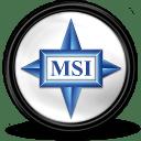 MSI-Grafikcard-Tray icon