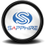 Sapphire Grafikcard Tray icon