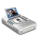 DVD movies drive dark icon