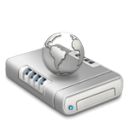 Network drive alternative dark icon