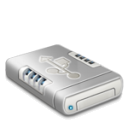 USB drive dark icon