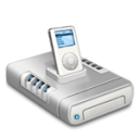 iPod music drive dark 2 icon