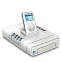 iPod music drive icon