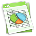 XLS filetype icon