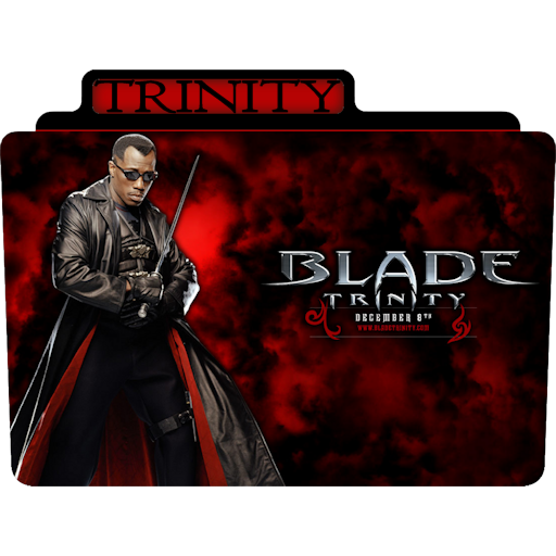 Blade 1 Icon Tv Movie Folder Iconset Aaron Sinuhe
