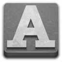 Categories-applications-fonts icon