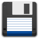 Devices media floppy icon