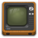 Devices video television icon