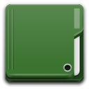 Places folder green icon