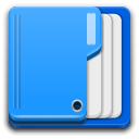 Places folder open icon