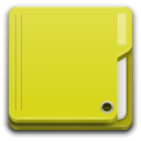 Places folder yellow icon