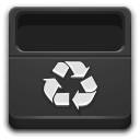 Places user trash icon