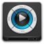 Devices multimedia player icon