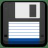 Devices-media-floppy icon