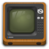 Devices-video-television icon