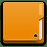 Places-folder-orange icon