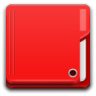 Places-folder-red icon