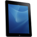 iPad Side Blue Background icon