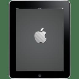 iPad Front Apple Logo Icon | iPad Iconset | Adidadidu