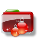 Christmas Folder Balls Stars icon