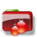 Christmas Folder Balls icon