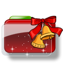 Christmas Folder Bells Stars icon