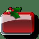 Christmas Folder Blank icon