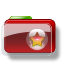 Christmas Folder Star 3 icon