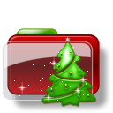 Christmas Folder Tree icon
