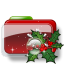 Christmas-Folder-Holly-2 icon
