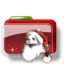 Christmas Folder Santa icon